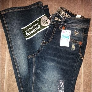 Girls Justice Bootcut Jeans Girls Size 10 SLIM